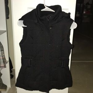 NY&Co thick hooded vest